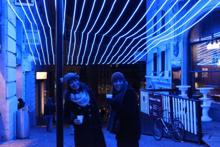 Túnel Azul. Instalación Lausanne